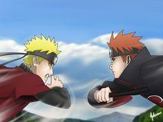 Naruto vs Pain Wallpaper - WallpaperSafari