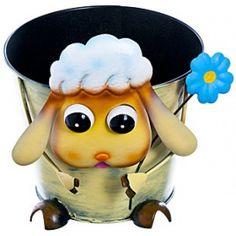 Кашпо для цветов «Овечка»
