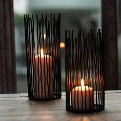 Modern Candlestick Candle Holder Stand Arts Crafts Wedding Decoration Home Supplies Black Candle Holders, Wrought Iron Candle Holders, Candle Holders Wedding, Tealight Candle Holders, Candlestick Holders, Black Candles, Candle Stand, Candlesticks, Candlestick Crafts