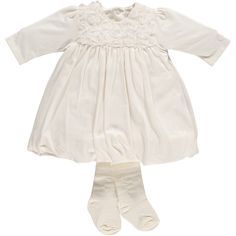 Baby Occasion Dress - Baby Girl Bubble Dress & Tights - Emile et Rose