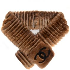 Limited Edition CHANEL Orylag Rabbit Fur CC Scarf in Brown. This scarf provides a very elegant and classic look. This is luxurious orylag rabbit from Italy with a black Chanel CC and the timeless style only from Chanel Chanel Scarf, Crystal Logo, Vintage Winter, Large Scarf, Chanel Handbags, Designer Handbags, Chanel Black, Leather Crossbody Bag, Scarf Wrap