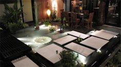 Balinese-inspired outdoor room