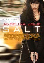 Salt.  Un film di Phillip Noyce. Con Angelina Jolie, Liev Schreiber, Chiwetel Ejiofor, Daniel Olbrychski, Andre Brangher. Thriller, durata 100 min. - USA 2010.