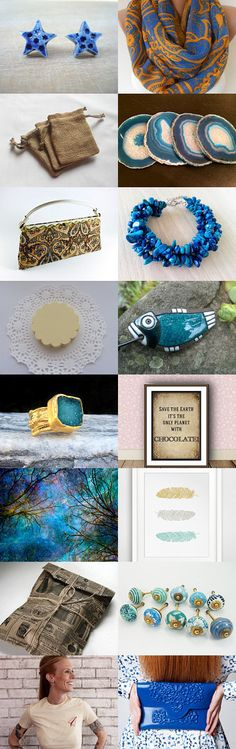 Sand and Water  by Andrea M. on Etsy--Pinned with TreasuryPin.com