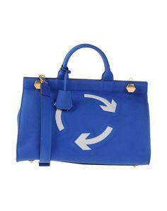 ANYA HINDMARCH Handbag. #anyahindmarch #bags #shoulder bags #hand bags #leather #lining #