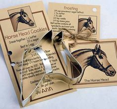 Horse Design Cookie Cutters | ChickSaddlery.com