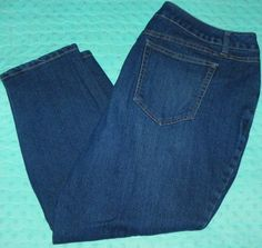 0b10d9574a0 Cato Premium Denim Blue Jeans Size 20W 40 X 25 Plus Size Medium Wash  Cato
