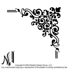 Custom patterns and stencils for etching, faux painting, embossing, sandblasting, stenciling walls, plaster, glass, concrete and wood Stencil Templates, Stencil Patterns, Doodle Patterns, Stencil Designs, Faux Painting, Fabric Painting, Stenciling Walls, Glass Etching Stencils, Damasks