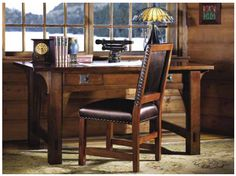 Stickley. Perfect.