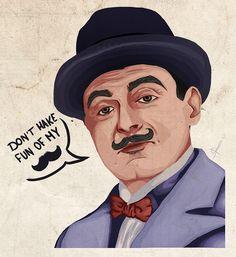 Hercule Poirot by Lyoree