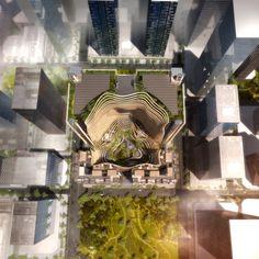 Gustafson Porter and Ingenhoven Unveil Mountainous Development Rising in Singapore,© Ingenhoven Architects