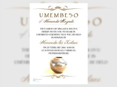19 Inspiring Umembeso Invitation Card Photos - Though on-line know-how has grow to be the favorite methodology of communication and distributing info in Box Wedding Invitations, Traditional Wedding Invitations, Wedding Invitation Card Template, Photo Invitations, Wedding Stationery, Invitation Wording, Zulu Traditional Wedding, Traditional Dresses, Zulu Wedding