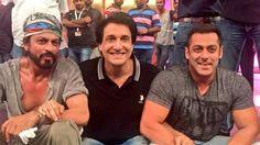 #SRK, Shiamak and #SalmanKhan together at #TOIFA2016 in Dubai