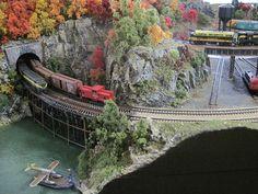 Nscale Model Train Layouts by Rasch Studios, via Flickr