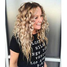 Natural curls #beachwaves