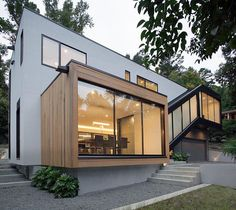 Pin for Later: 20 Contemporary Homes That Look Like They're From the Future Raleigh, NC