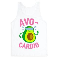 Avocardio - Show off your love of nutrition and fitness with this avocado lover's, fitness and food pun, cardio/workout shirt! Now eat your avocados and go for a run!