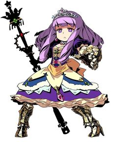 Princess from Etrian Odyssey III: The Drowned City