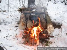 Готовим на костре Bushcraft Camping, Camping Survival, Tarp Shelters, Cold Weather Camping, Camping Stove, Knots, Outdoors, School, Outdoor Decor