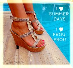 We Love Summer - Frou Frou Shoes -  @froufroushoes http://www.froufroushoes.com