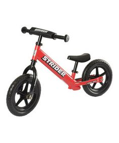 Little ones who walk can also ride with this balance bike featuring updated bearings for smoother motion and years without maintenance. Kids will develop balance, coordination and confidence thanks to the steady, stable and safe construction. It even features an adjustable seat and handlebars to accommodate growing riders! #christmas #gift #santa #toys #kids $79.99
