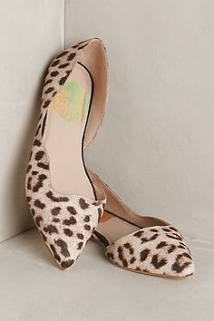 the perfect leopard heel for your inner french girl - just add red lipstick! #anthrofave