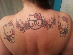 Hello Kitty Tattoo's 2, 3, and 4