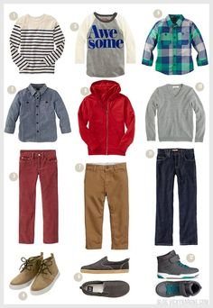 Back to School: Outfits for Boys | Vicky Barone