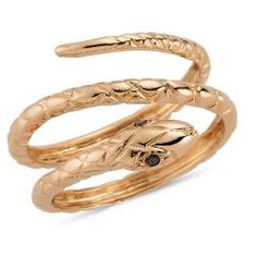 Diamond Snake Ring http://goo.gl/UZd9C
