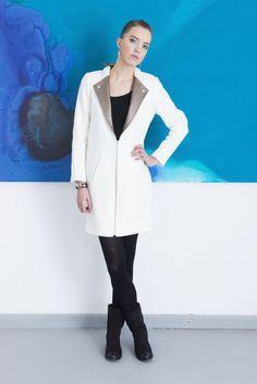 Artystycznie druga odsłona Coat, Jackets, Fashion, Down Jackets, Moda, Sewing Coat, Fashion Styles, Peacoats, Fashion Illustrations