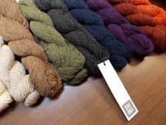 Shibui Pebble: lace weight blend of silk, wool, and cashmere.
