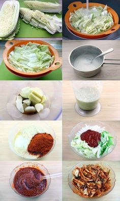 Learn how to make your own kimchi with this simple recipe so you can enjoy this popular Korean delicacy at home any time! Korean Dishes, Korean Food, Asian Recipes, Healthy Recipes, Korean Kitchen, Around The World Food, Jewish Recipes, Asian Cooking, Fermented Foods