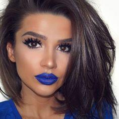 "Lips: @nyxcosmetics Liquid Suede Cream Lipstick ""Little Denim Dress"" Liner: @signabeauty Line Ace Liquid Eyeliner Lashes: @kokolashes ""Stella"" Brows: @colourpopcosmetics ""Dope Taupe"""