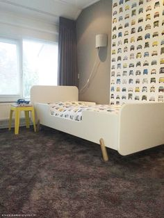 Decokay design tapijt in de slaapkamer slaapkamer bedroom pinterest bedrooms and chill - Kinderkamer taupe ...