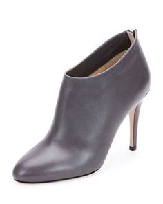 Mendez+Grained+Leather+Bootie,+Mist+by+Jimmy+Choo+at+Neiman+Marcus.