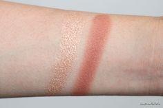 MAC Nutcracker Sweet Copper Face Whisper of Gilt vs Laura Geller Gilded Honey