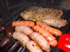 Vacio, Chorizos, Salchichas a la Parrilla y mas