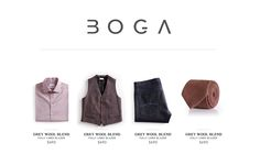 Design #72 by mibg   Design a Logo for a Luxury Menswear Brand