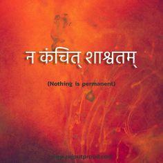 Sanskrit Quotes, Sanskrit Mantra, Sanskrit Tattoo, Gita Quotes, Vedic Mantras, Sanskrit Words, Buddhist Quotes, Hindi Tattoo, One Word Quotes