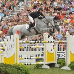 Grand prix show jumper Georgina Bloomberg made news at the Hampton Classic (N.Y.) on Sept. 1 when she placed third with Juvina in the $250,000 FTI Consulting Grand Prix while five months pregnant. Bloomberg, 30, and her boyfriend and fellow grand prix rider Ramiro Quintana are expecting a boy around Christmas.