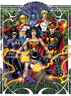 Justice League of Amazons - GEORGE PEREZ