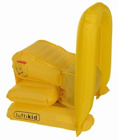 Luftikid: the first inflatable child safety seat  www.luftikid.co