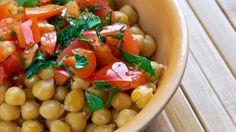 طريقة عمل بليلة الحمص للرجيم - Light chickpeas balila recipe
