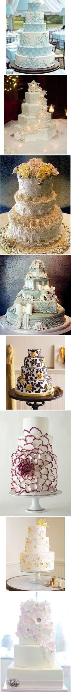 8 classic wedding cakes