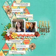 Page by Juli Fish featuring Fall In To Autumn by Zoe Pear