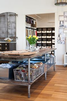 Industrial workspace / office. This is what my graphic design studio will look like when I open it.