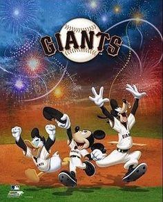 San Francisco Giants #Disney