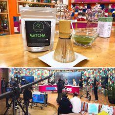 ATENTOS!! Hoy estaremos alrededor de las 9.30 - 10am en el programa matinal @bienvenidos13 junto al Dr. Rodolfo Neira @rodofeliz hablando de los beneficios del Té y obviamente en especial de nuestros productos de #MatchaChile  ---------- #matcha #matchalovers #chile #téVerde #programa #canal13