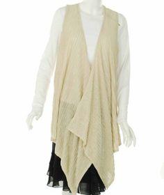 Jones New York Sleeveless Sweater Soapstone X-Small Jones New York. $21.81. Save 62% Off!