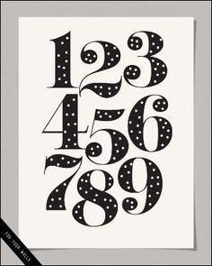 Free number print